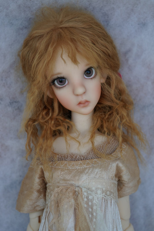"Human Thistle is a 22-inch resin BJD. ""I have not decided on edition size yet; she will be coming later this year,"" Wiggs said."