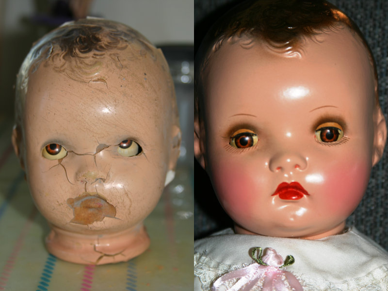 Horsman doll restoration