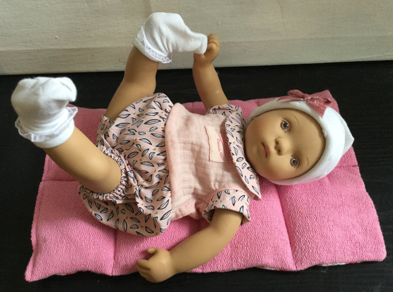"""""""This toddler is a Bibichou baby,"""" the artist said. """"It is almost the same doll I designed for the Goetz company in 1989. I made it only a little bit fluffier and rounder."""""""