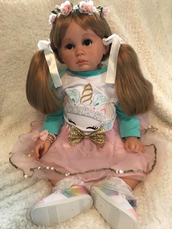 Toddler doll Journey