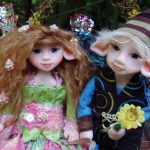 Judy Pollard conjures up winged creatures, fantastic friends in doll form