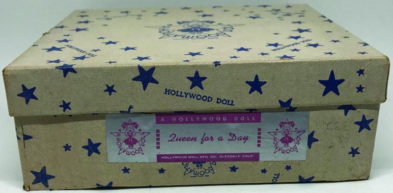 Hollywood Doll's star-studded box design.