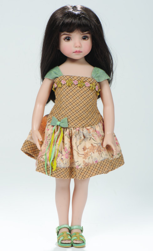 The first vinyl Little Darling, hand-painted and costumed by Dianna Effner.
