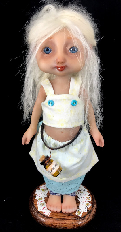 Alice is one of Robinson's silicone dolls.