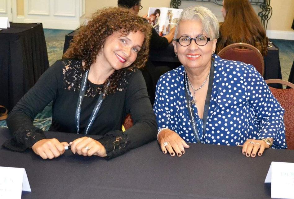 Jennifer Latham-Robinson (left) and her mother, Nancy Latham.