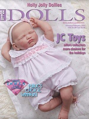 DOLLS magazine January/February 2021