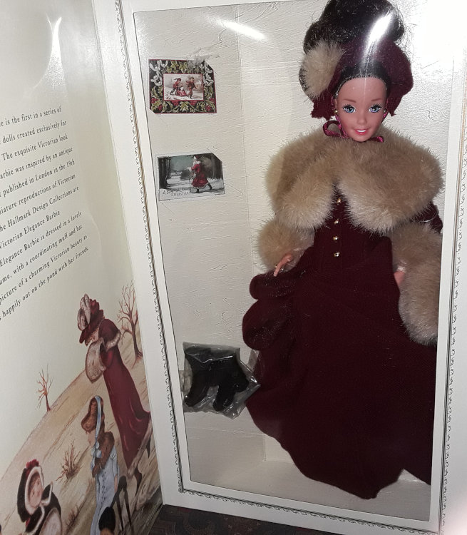 Victorian Elegance Barbie, issued by Hallmark in 1994.