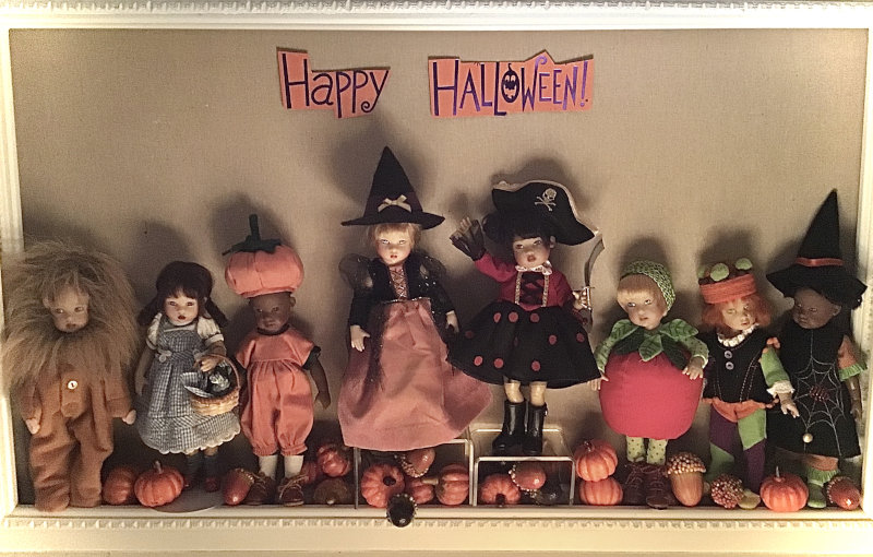 """Mary Basden: """"Riley Kish and Friends go Trick or Treating."""""""