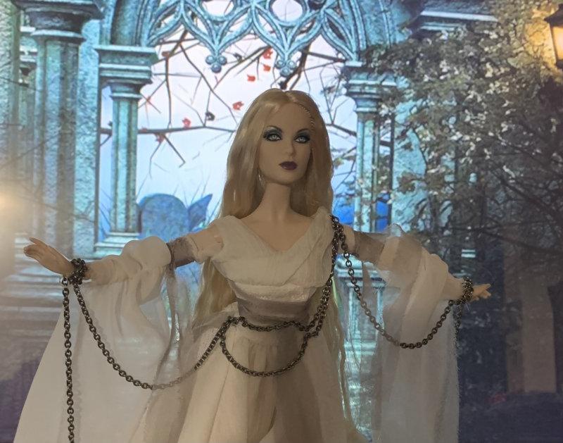 Nilsa Donelan: Haunted Beauty Ghost Barbie