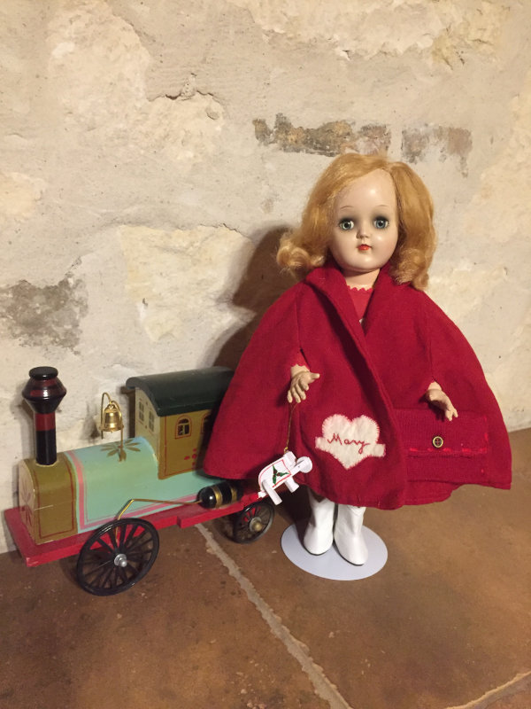 "Rose Engelhardt: ""Ideal's Mary Heartline going toy shopping for Christmas."""