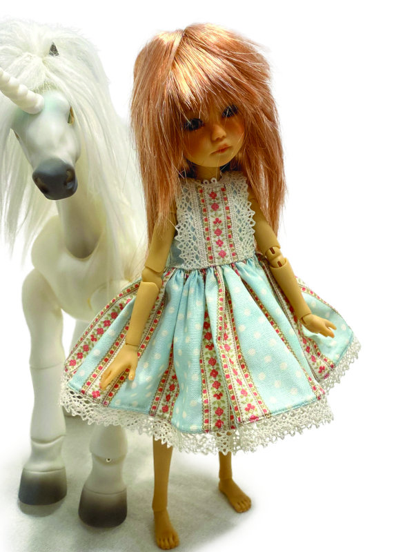Rose Lacefield's Winnie in a another adorable outfit by Schmidt.