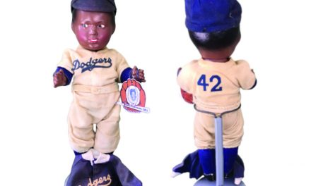 Curious Collector: Jackie Robinson Doll