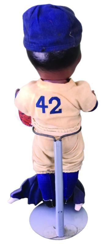 Jackie Robinson, number 42