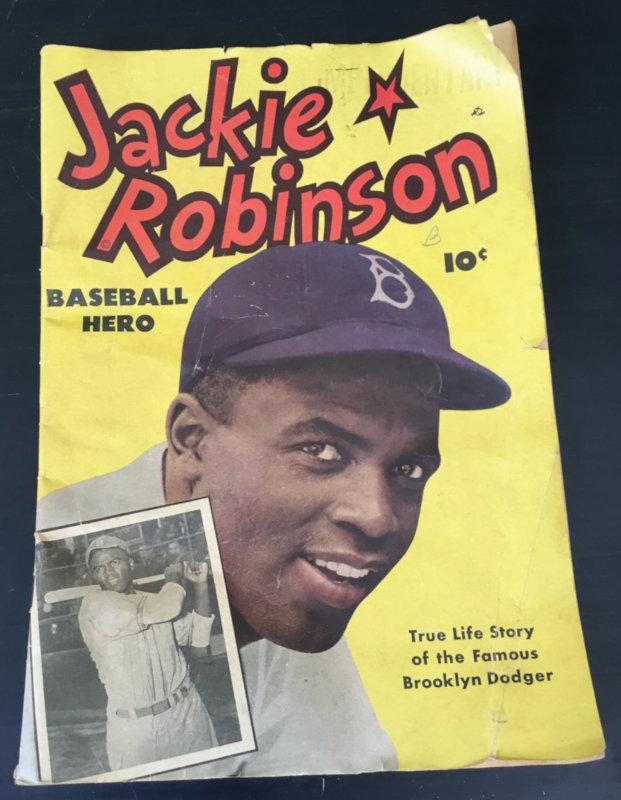 Jackie Robinson comic book