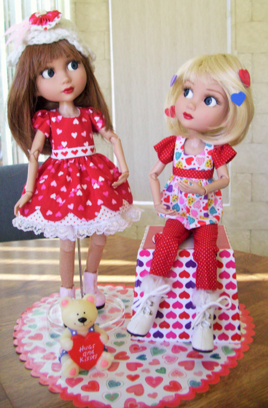 "Bernay Scott: ""Patience dolls by Robert Tonner."""