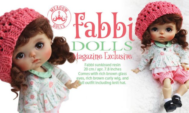 Introducing Fabbi: Meadow Dolls designs a cute new BJD exclusively for DOLLS readers