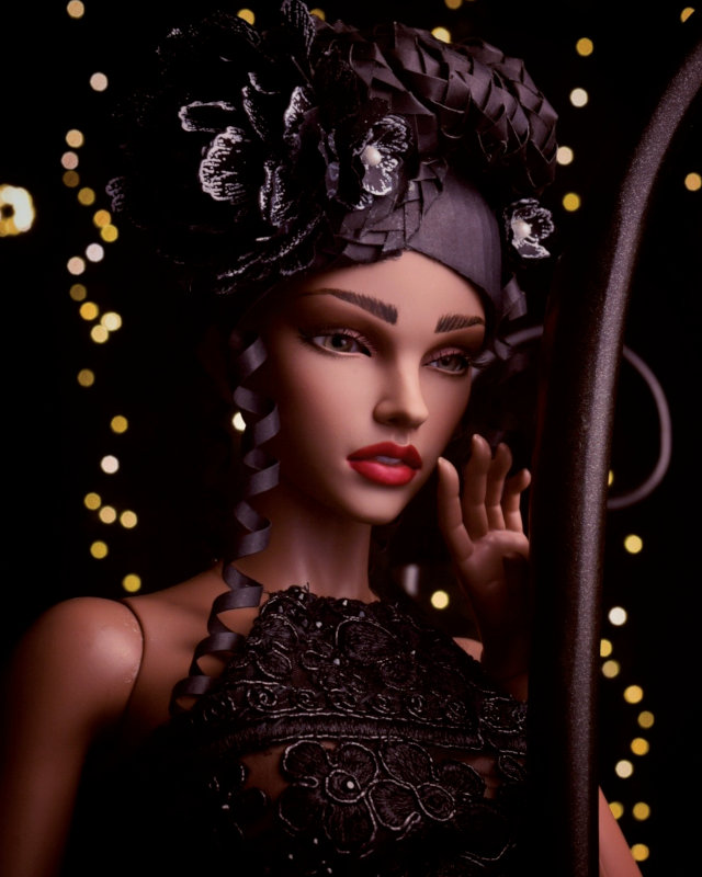 Model: Iplehouse's Stella with a face-up by Laurie Lenz.