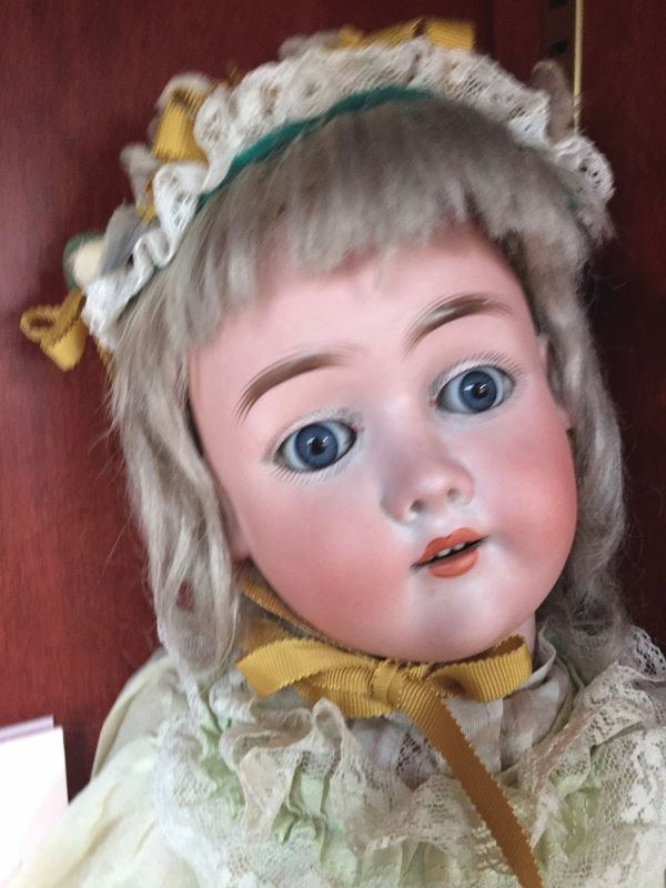 A 21-inch Max Handwerck child doll. Photo courtesy of Foulke Archives