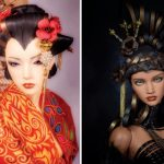 Crowning Glory: Tamika Spencer creates amazing doll wigs from paper