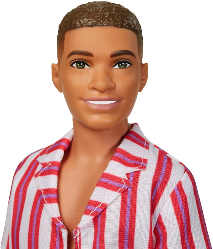 Mattel opened their archives and concocted three Throwback Looks for Ken's 60th anniversary. This is the Beach Look.