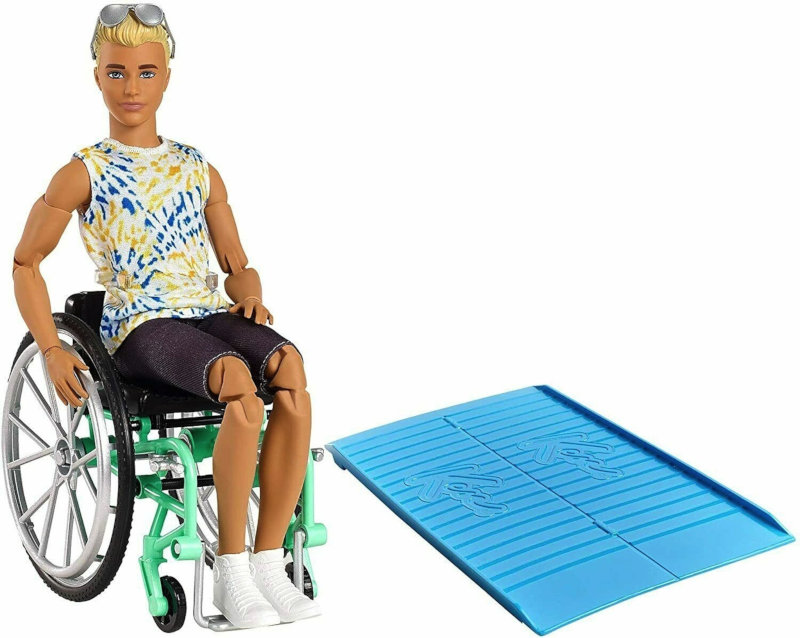 Mattel is releasing a Ken doll using a wheelchair, along with a Dreamhouse-compatible ramp, in 2021.