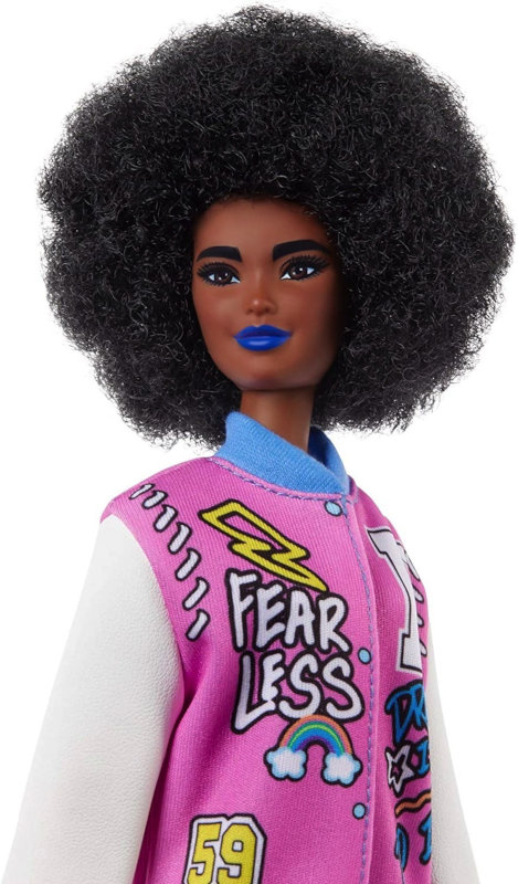 This Fashionista's jacket says it all — she's fearless.