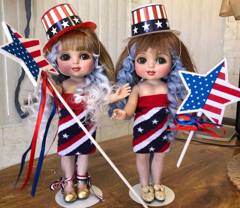 Bernay Scott: Marie Osmond Adora Belle dolls.