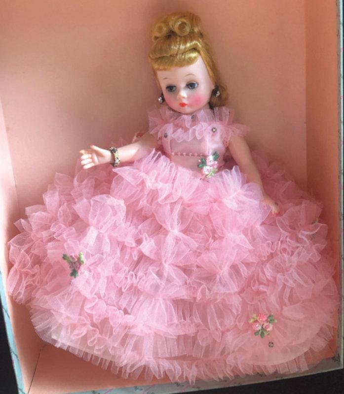 Cissette in pink ballgown