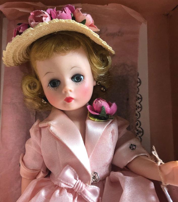 Cissette in pink closeup