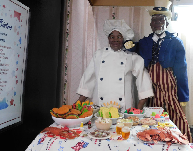 """Jacquelyn Graham-Dickson: Daddy Long Legs' Chef Henry and Uncle Sam — """"I want YOU at the cookout!"""""""