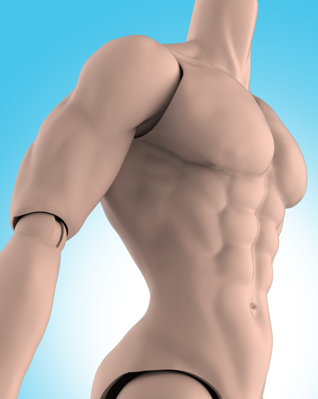 JHD's male doll, Adonis, is getting a new body sculpt.