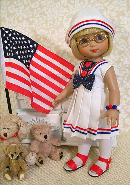 Janis Kiker: Ann Estelle by Tonner Co. is ready for the parade!