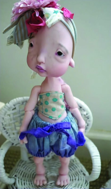 Humpty, 30 cm (11.8 inches). Full outfit by Gail McIntyre.