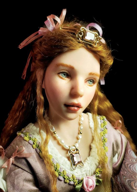 A closer look at the Princess in Princess & Frog.