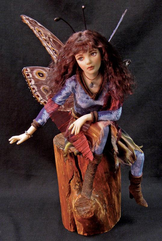 Rosanna is a blue morpho fairy.