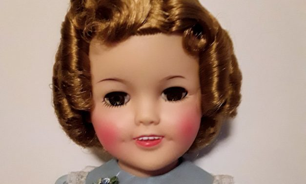 Curious Collector: Ideal 1957 Shirley Temple doll