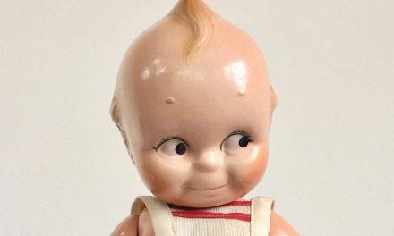 Antique Q&A: Composition Kewpie Doll