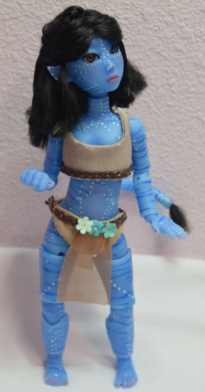 Alixie with tail in blue skin tone