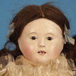 Antique Q&A: French papier-mâché doll