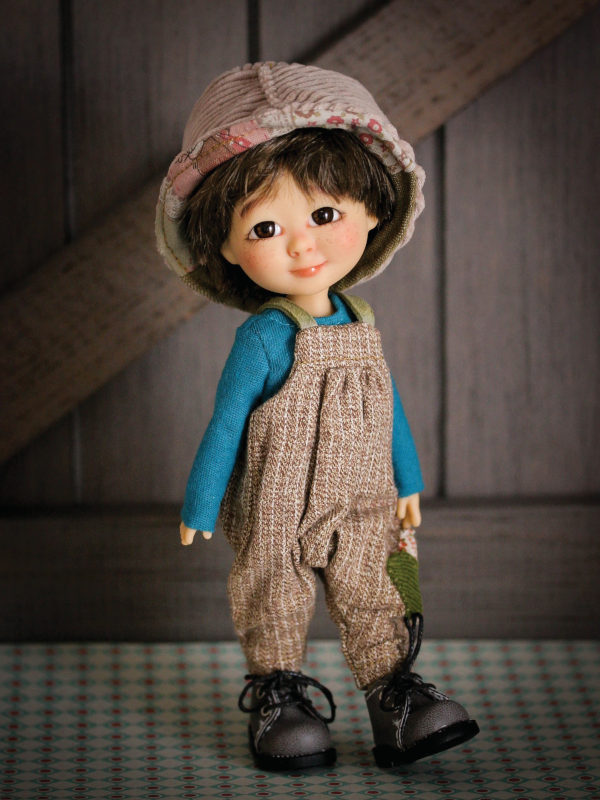 Bambi, 7.5 inches, dressed in a boy style outfit.
